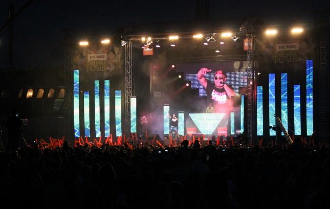 The Voice Summer Tour 2014 в Варне. Фото.