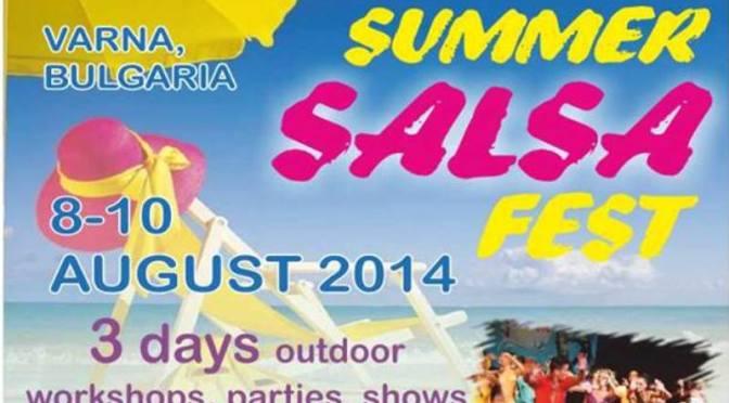 3-й международный фестиваль сальсы в варне 07-10.08.2014