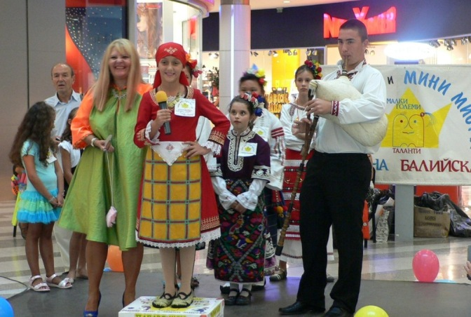 Конкурс «Мини-мисс и Мини-мистер Варна»  в Mall Varna. 31.08