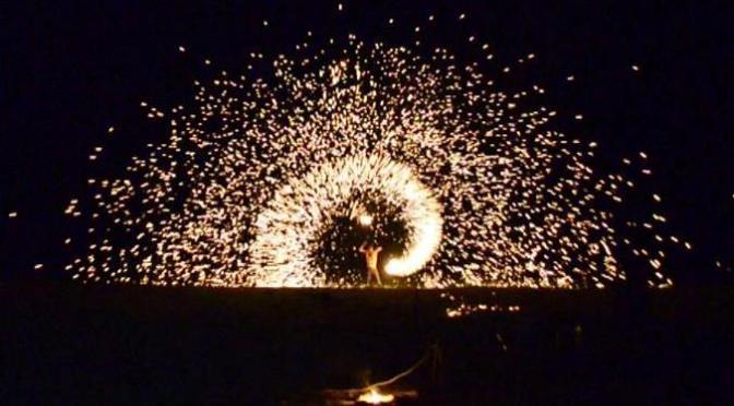 Огненное шоу в Варне 31.08