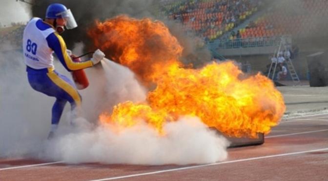 Международный турнир по пожарно-прикладному спорту в Варне. 25.09