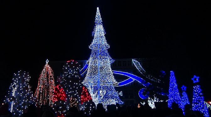 6 декабря в Варне зажгут огни на городской ёлке и откроют бесплатный каток