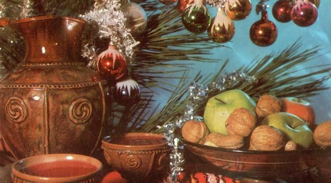 Волшебный мир болгарских новогодних открыток (часть I)