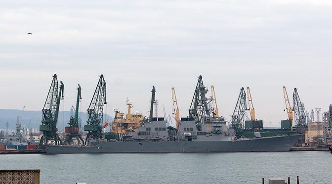 Американский эсминец «Доналд Кук» гостит в Варне