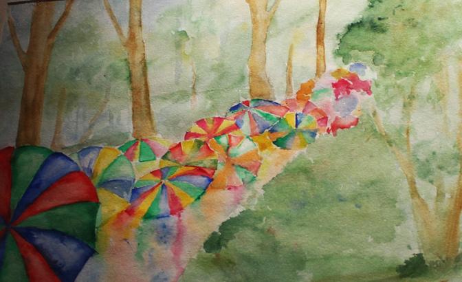 «Дедал» представляет: «Дождь и цвет»