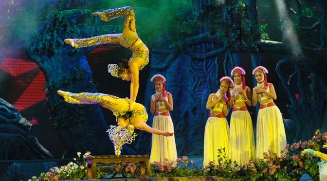 Шоу китайского танцевального ансамбля в ФКЦ. 14 и 15.02