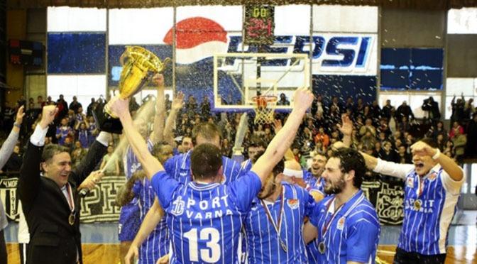 Баскетболисты «Черно Море» покажут варненцам Кубок Болгарии