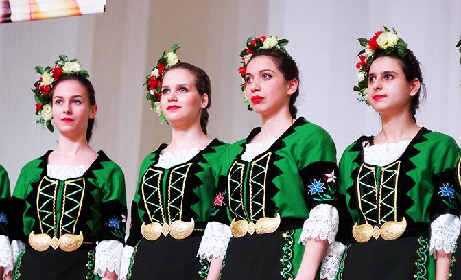 XXI Национальный детский фольклорный конкурс «Диньо Маринов»