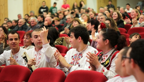Ребята из Пловдива радуются победе в конкурсе