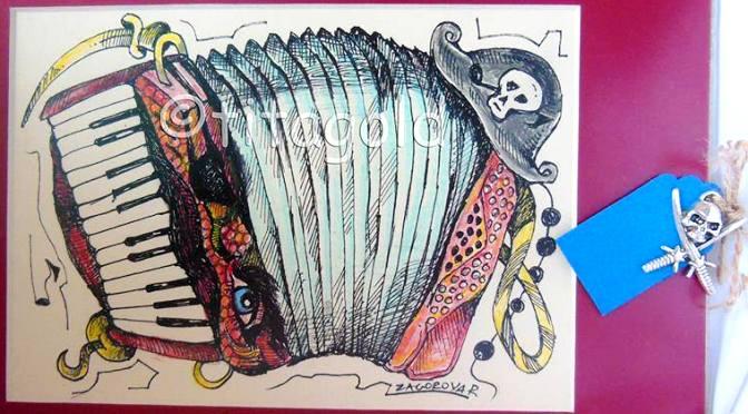 «Намигване». Сатирическая графика Р. Загоровой в Club Base. 22.04 — 06.05