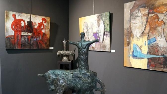 CONTEMPO 7. День 3-й: «Скульптура и живопись» Христо Христова в Le Papillon