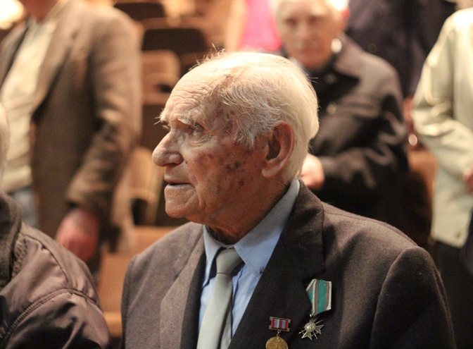 Варненских ветеранов наградили медалями к 70-летию Победы