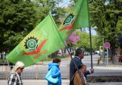 На знаменах БРС-атомный