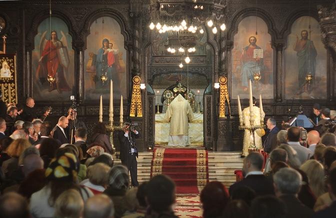 1150-летие крещения Болгарии: литургия в Успенском Соборе Варны. 03.05.2015