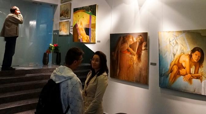 100+. Выставка живописи Цанко Цанкова в Blue gallery
