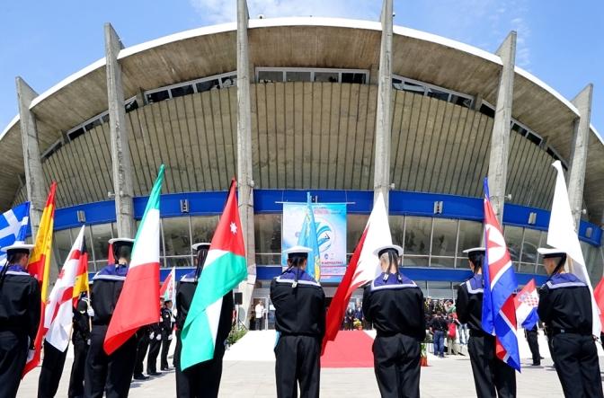 Кубок Мира по гимнастике и акробатике 2015 в Варне: Opening Ceremony